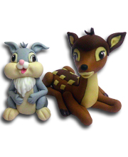 figurice-za-tortu - thumper-and-bambi-velika